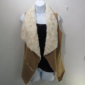 😍Double Zero Womens open Vest Size SM  Super soft
